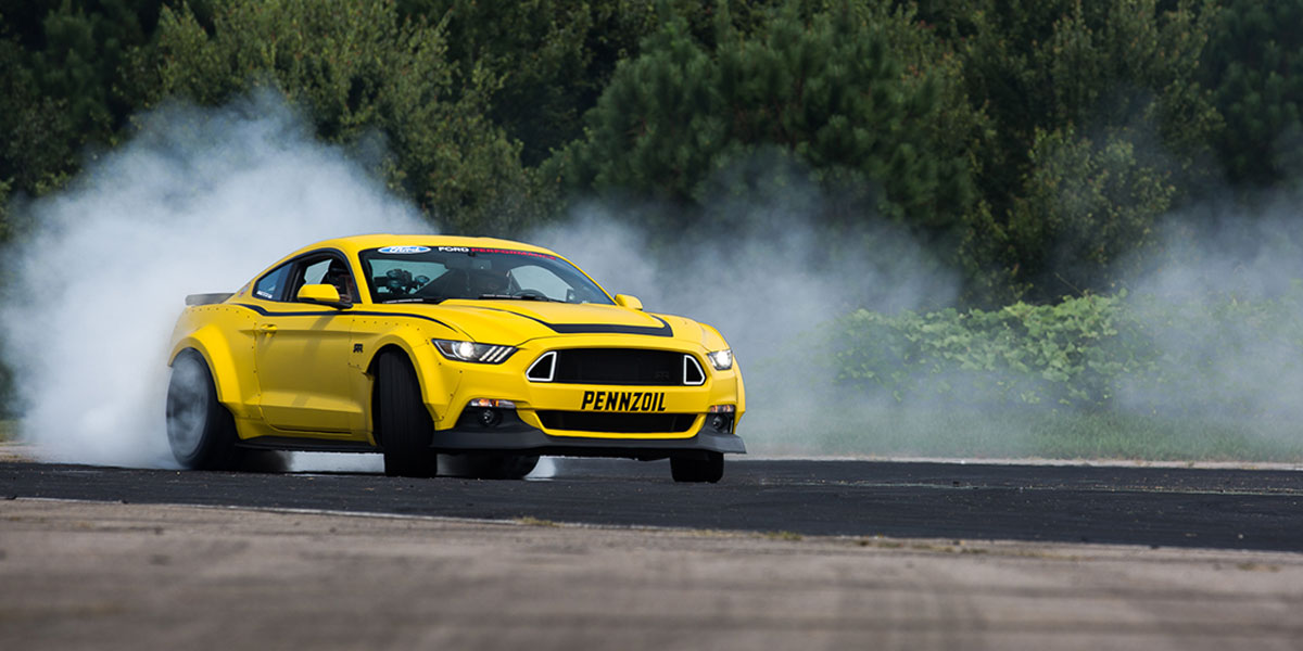 Ford Mustang aftermarket branding
