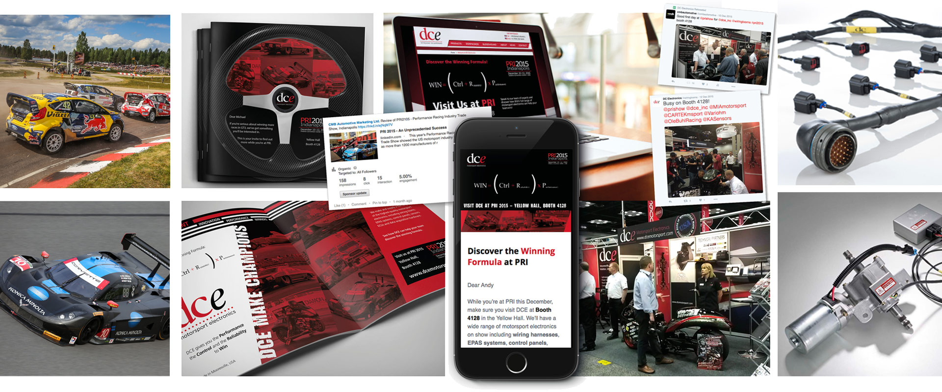 automotive trade show marketing and promotional campaign