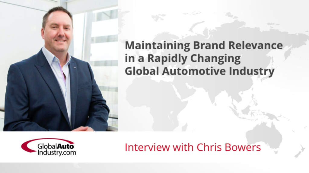 Maintaining brand relevance for automotive companies